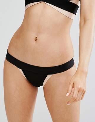 PrettyLittleThing Bandage Bikini Bottoms
