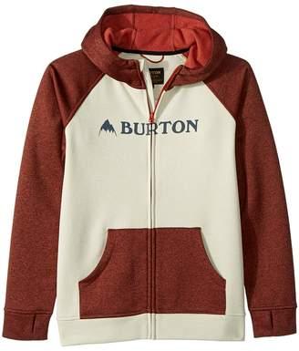 Burton Oak Full Zip Hoodie Boy's Sweatshirt