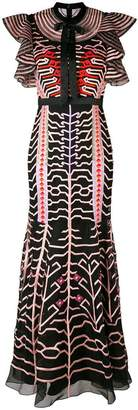 Temperley London Canopy evening dress