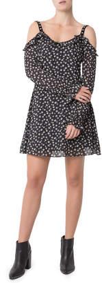 Glamorous Cold Shoulder Daisy Dusty Dress