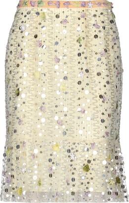 Anna Molinari BLUMARINE Knee length skirts - Item 35393252VX