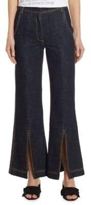 Each X Other Wide-Leg Cotton Jeans