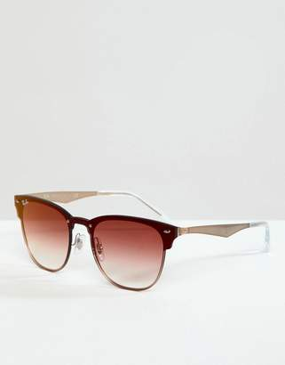 Ray-Ban 0RB3576 Clubmaster sunglasses