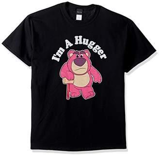 Disney Men's Toy Story Lotso Huggin Bear I'm a Hugger Graphic T-Shirt