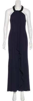 Calvin Klein Embellished Maxi Dress