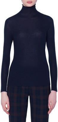 Akris Seamless Cashmere & Silk Sweater