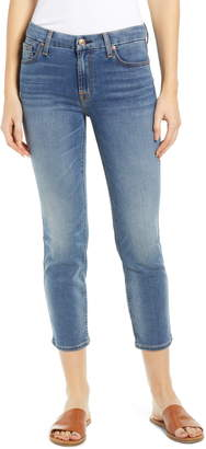 7 For All Mankind b(air) Kimmie Crop Slim Jeans