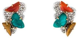 Alexis Bittar Roxbury Cluster Clip-On Earrings