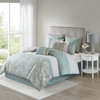 510 Design Stacie Damask 8 Piece Bedding Comforter Set
