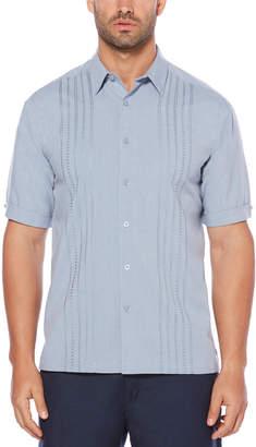 Cubavera Panel Embroidered Shirt