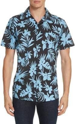 Onia Hibiscus Print Camp Shirt