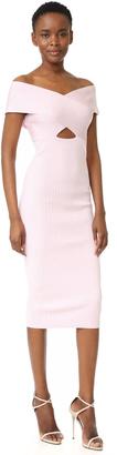Cushnie Et Ochs Boat Neck Pencil Dress $995 thestylecure.com