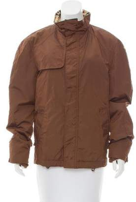 Burberry Lightweight Nova Check-Lined Jacket