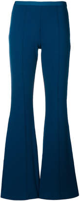 Won Hundred flared bell bottom stretch trousers