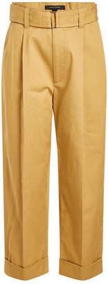 Marc Jacobs Wide Leg Cotton Pants