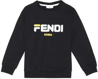 Fendi Kids MANIA cotton sweatshirt
