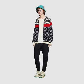 Gucci Cotton GG striped jacket