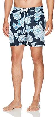 Original Penguin Men's Floral Volley Swim Short