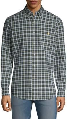 Polo Ralph Lauren Plaid Logo Shirt