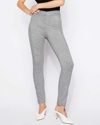 Express High Waisted Houndstooth Skinny Pant