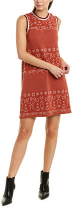 Anna Sui Birds And Snakes Shift Dress