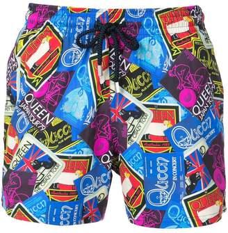Vilebrequin Queen printed swim shorts