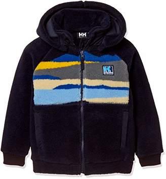 Helly Hansen (ヘリー ハンセン) - [ヘリーハンセン] K MT FIBERPILER Jacket HJ51865 キッズ ネイビー 日本 140 (日本サイズ140 相当)
