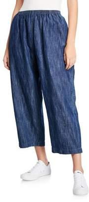 eskandar Cotton-Linen Japanese Trousers