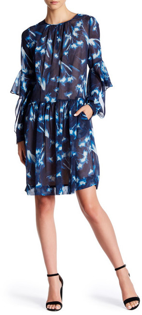 BCBGMAXAZRIABCBGMAXAZRIA Jeannie Woven Silk Cocktail Dress