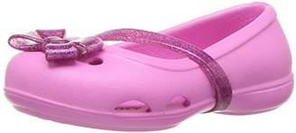 Crocs Girls' Lina K Flat