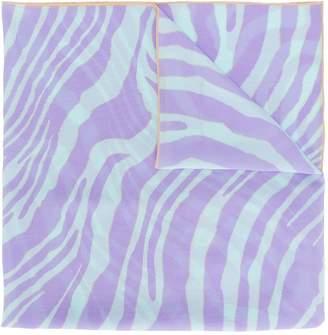 Roberto Cavalli swirl scarf