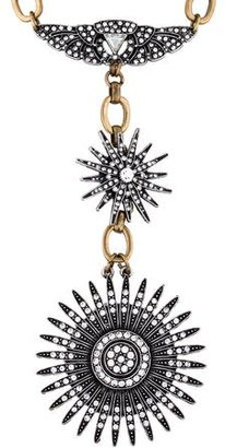 Lulu Frost Odyssey Starburst Pendant Necklace $95 thestylecure.com