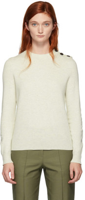 A.P.C. Off-White Caroline Crewneck Sweater