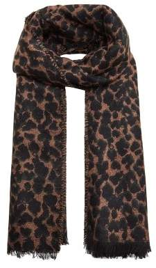 Violeta BY MANGO Animal print scarf