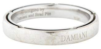 Damiani 18K Diamond D. Side Wedding Band white 18K Diamond D. Side Wedding Band