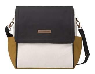 Petunia Pickle Bottom Boxy Diaper Backpack Bag Caramel, Black