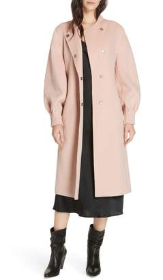Joie Mazie Wool Blend Coat