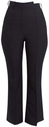 Rokh Distorted Kick-Flare Trousers