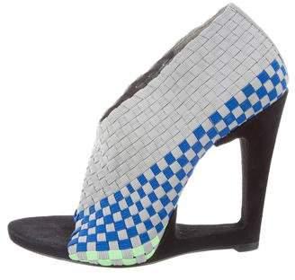 Alexander Wang Woven Cutout Sandals