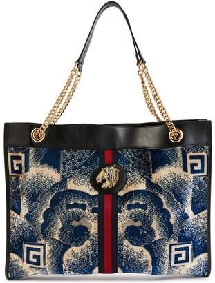Gucci Rajah velvet shopper