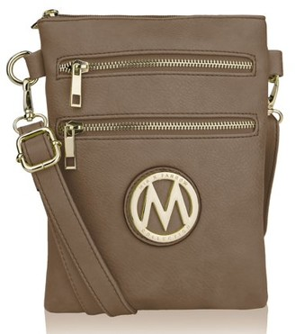 MKF Collection by Mia K Farrow MKF Collection Medina Vegan Leather Fashion Crossbody by Mia K. Farrow