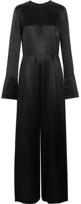 Michael Lo Sordo - Silk-satin Jumpsuit - Black