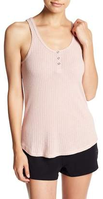 PJ Salvage Ribbed Henley Tank