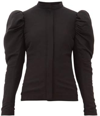 Lemaire Quilted Puffed Sleeve Jacket - Womens - Black
