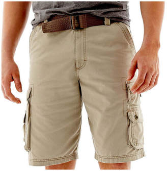Lee Wyoming Belted Cargo Shorts