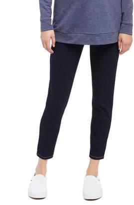 Motherhood Maternity Secret Fit Belly Skinny Leg Maternity Crop Jeans