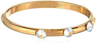 Chamak by Priya Kakkar Dainty Gold Swarovski Element Crystals Ring