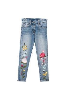 MonnaLisa Embroidery Jeans