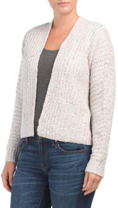 Juniors Cropped Cardigan