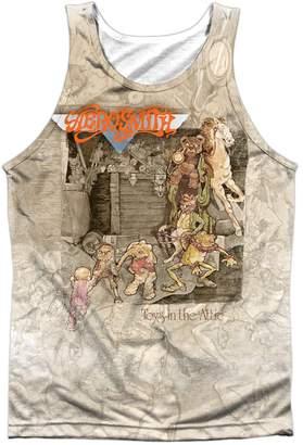 Aerosmith Band Retro Toys in the Attic Album Cover Front Print Tank Top Shirt